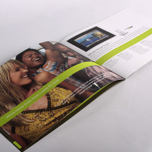 brochure design for Link Systems