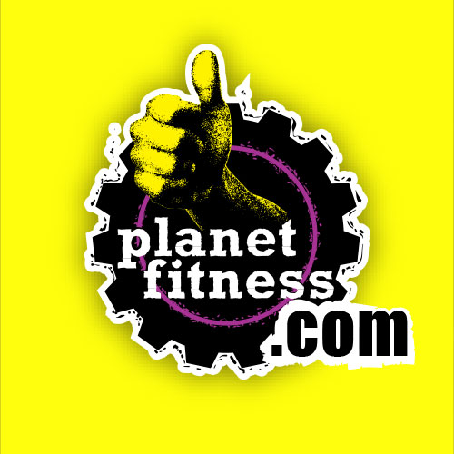 Vehicle Wrap design for Planet Fitness