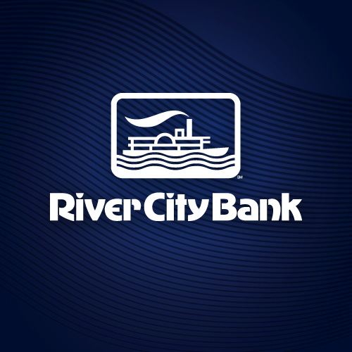 App graphic designs for the for the River City Bank mobile banking app.