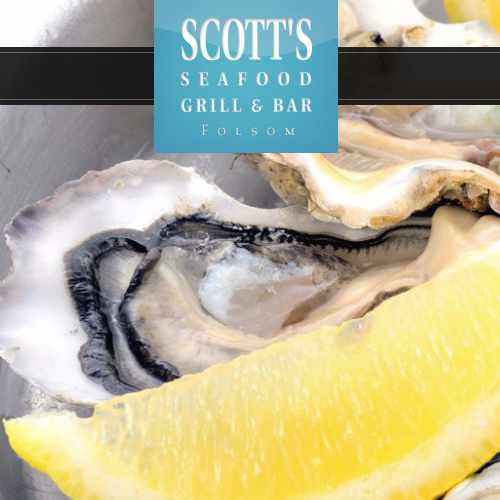 Website design for Scott's Seafood in Folsom, CA